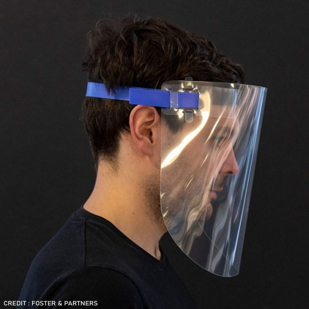 Re-usable Protective Face Visor (80mm)