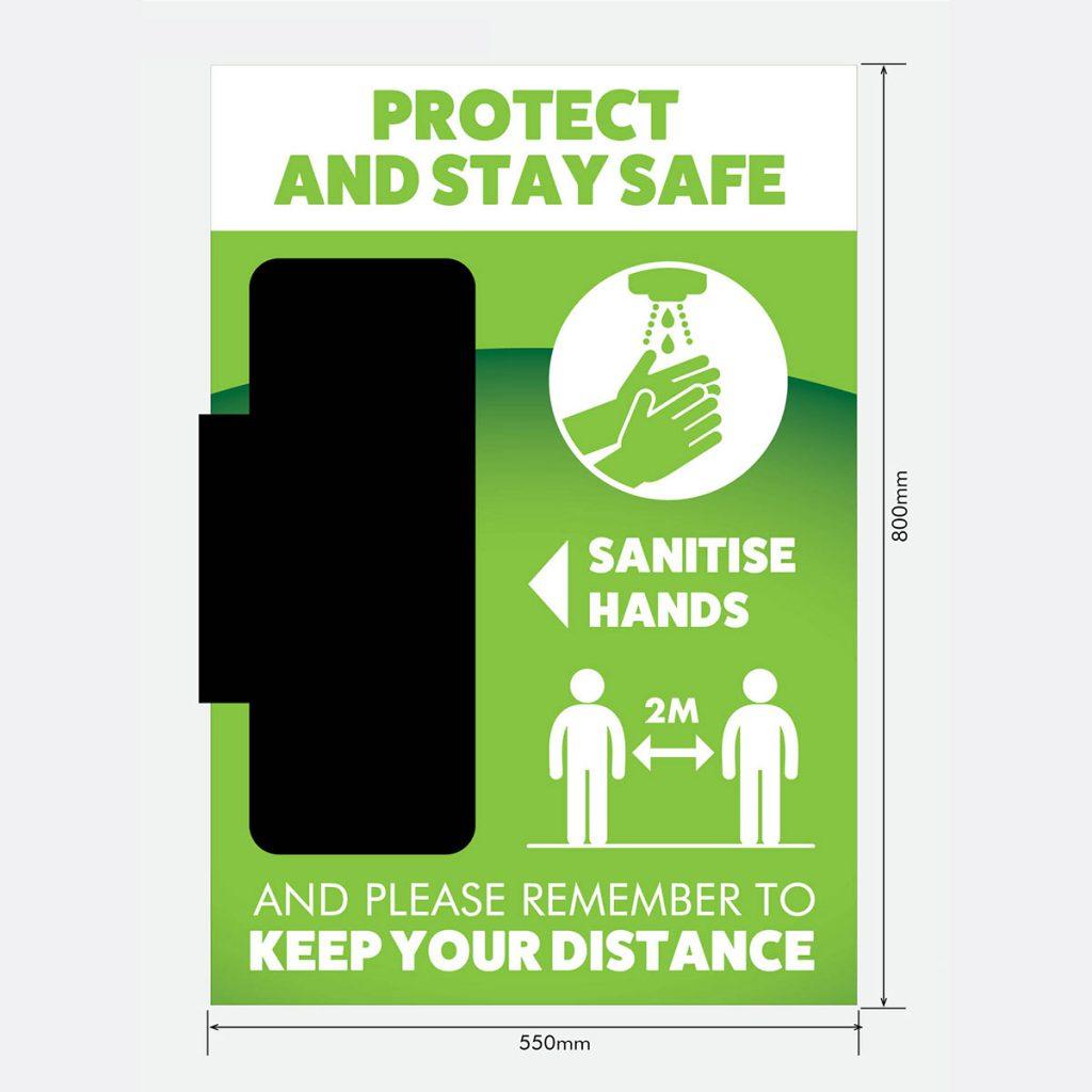 Wall Mounted Hygiene Station Basic