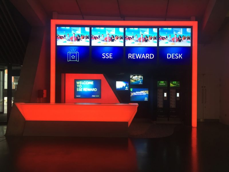 SSE Reward Desk in Red Mode