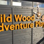 Crathes Castle Adventure Playground 3D Letters and Bronze Clock Hands
